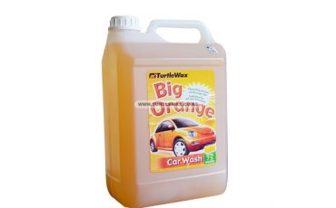 Big orange car wash